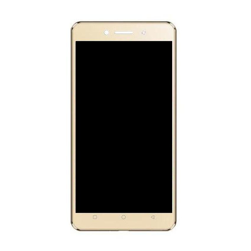 LCD with Touch Screen for Itel Wish A41 Plus - Champagne (display glass  combo folder)