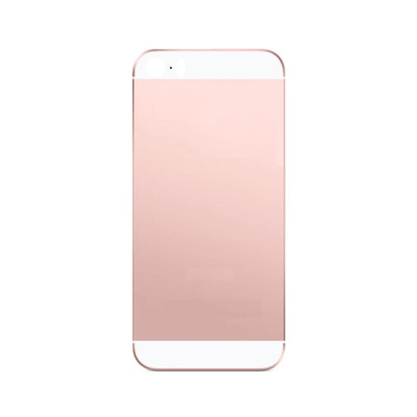 Topmoderne Back Panel Cover for Apple iPhone SE 32GB - Rose Gold - Maxbhi.com EN-44