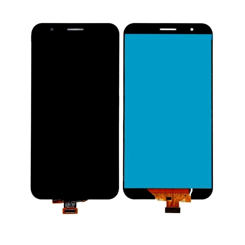 LCD with Touch Screen for LG Stylo 3 Plus - Black (display glass combo  folder)