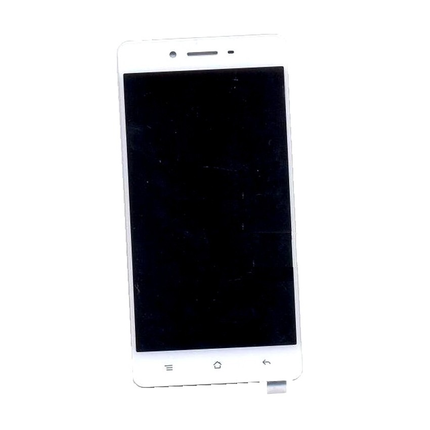 LCD with Touch Screen for Oppo F1 ICC WT20 - Black (display glass combo  folder)