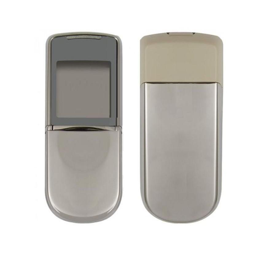 9e8af90fade15 Full Body Housing For Nokia 8800 Sirocco Silver - Maxbhi Com ...