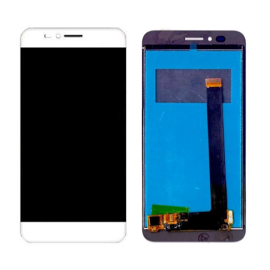 promo code 9cb12 076e5 LCD with Touch Screen for Intex Aqua S7 - Gold (display glass combo folder)