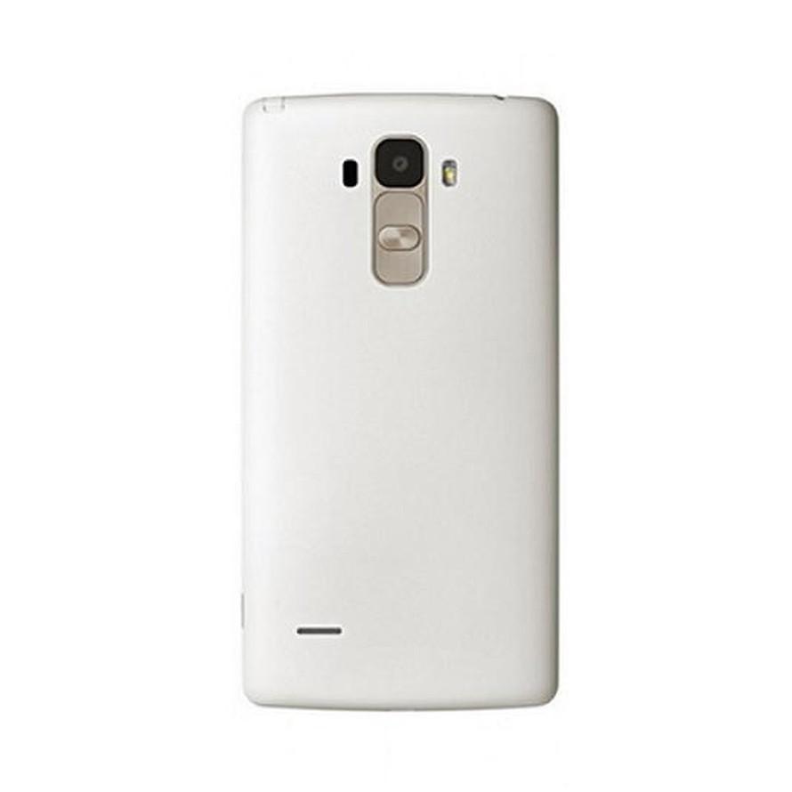 Back Panel Cover for LG G4 Stylus 3G - White