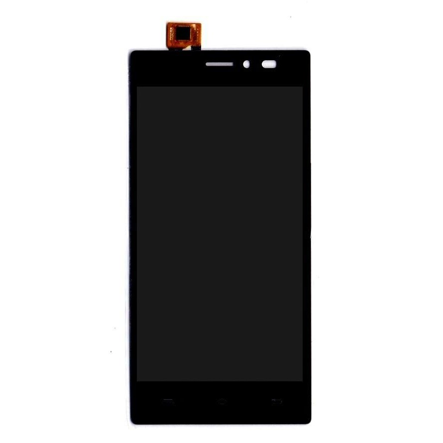 check out 3bd6c 4dcf9 LCD with Touch Screen for Lava X17 - Gold (display glass combo folder)
