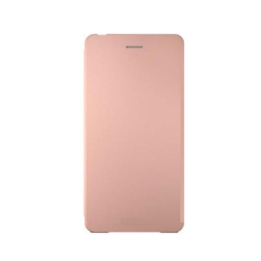 f2c4db2073bf4 Flip Cover For Sony Xperia X Performance Dual Rose Gold By - Maxbhi.com