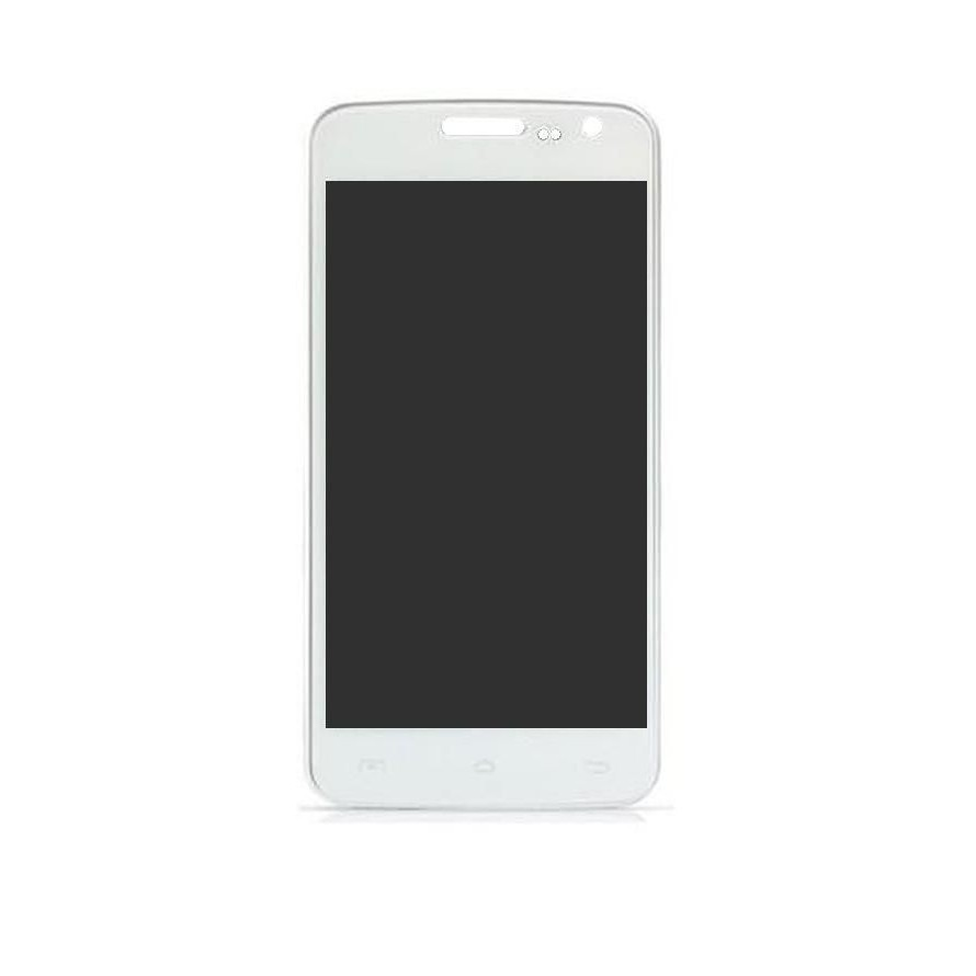 LCD with Touch Screen for Obi Python S452 Plus - White (display glass combo  folder)