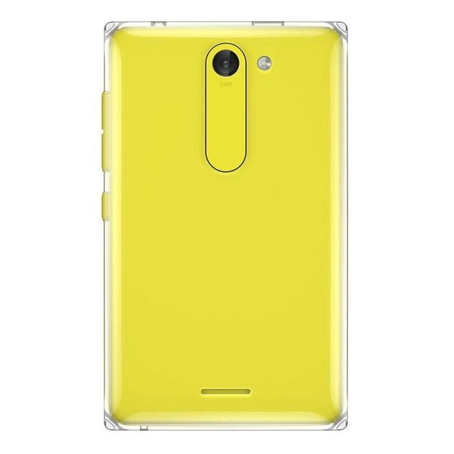 Full Body Housing for Nokia Asha 502 Dual SIM - Yellow - Maxbhi.com  Full Body Housi...