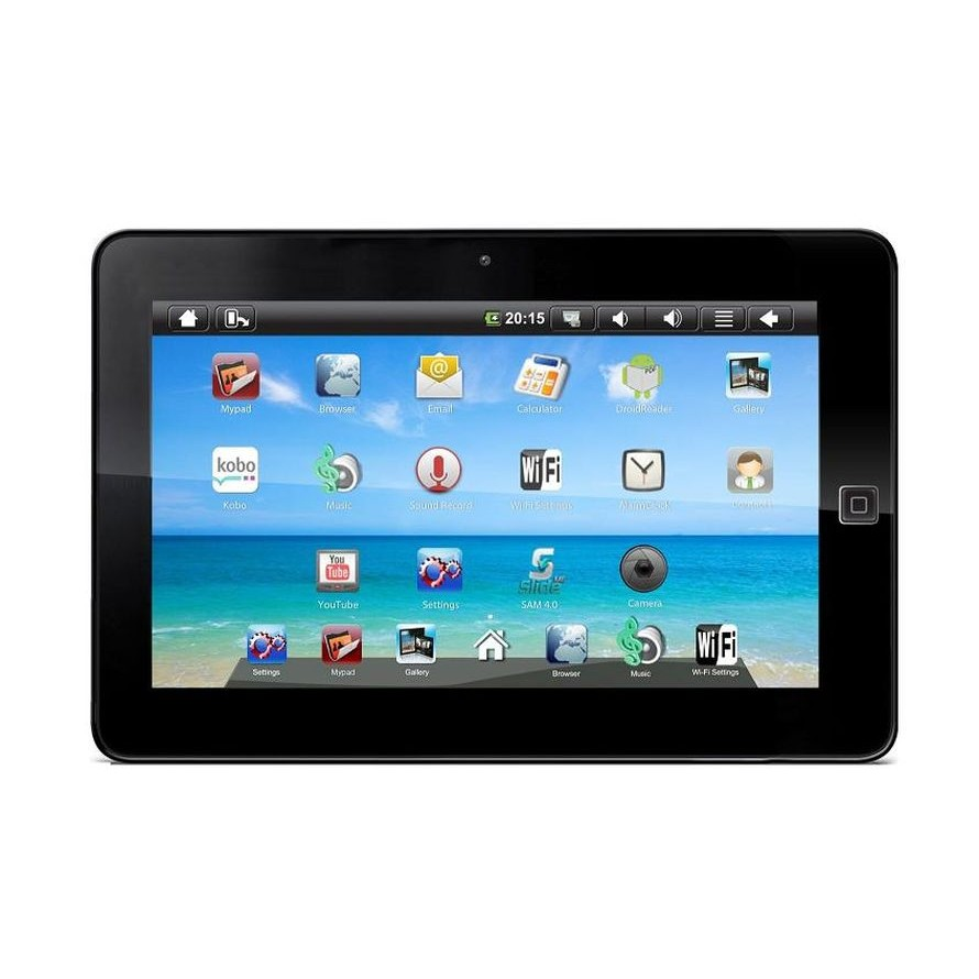 Lcd Screen For Sylvania 10 Inch Tablet With 3g Replacement Display By