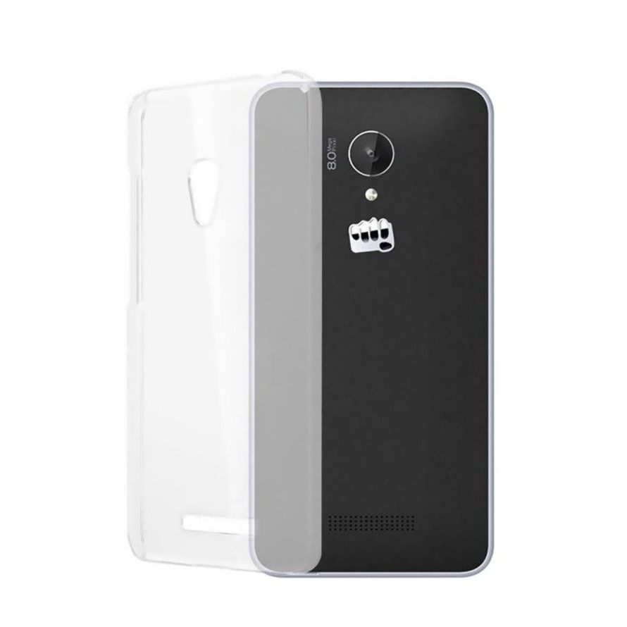 new product 8fe44 80aca Transparent Back Case for Micromax A106 Unite 2