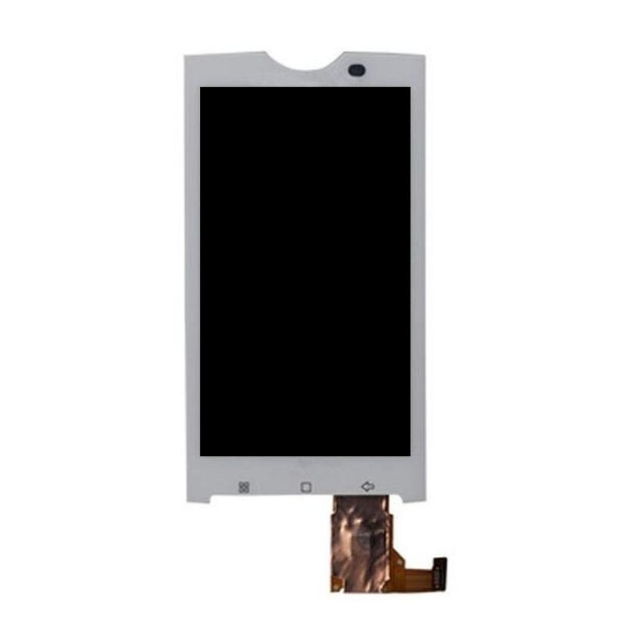 LCD with Touch Screen for Tata Docomo Sony Ericsson Xperia X10 - White  (display glass combo folder)