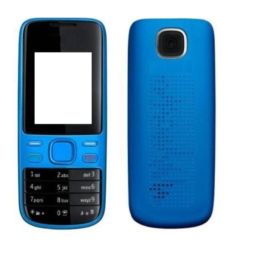 uk availability 12bb5 5b510 Full Body Housing for Nokia 2690 - Blue - Maxbhi.com