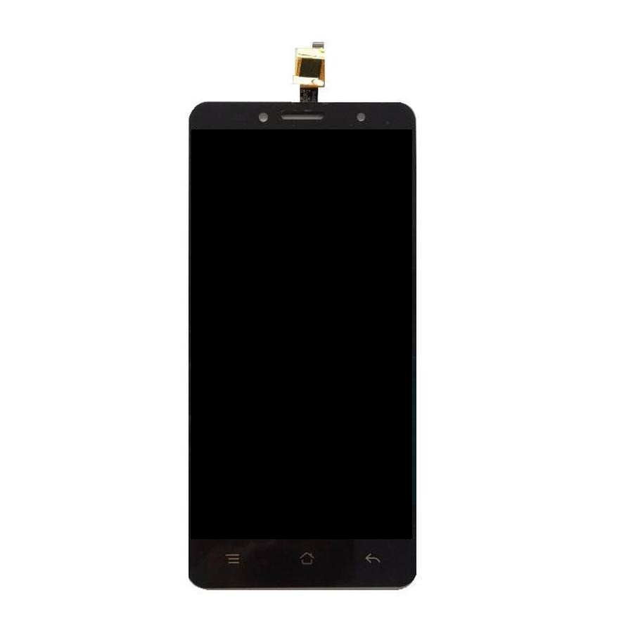 lcd with touch screen for siswoo c50 black by maxbhi com
