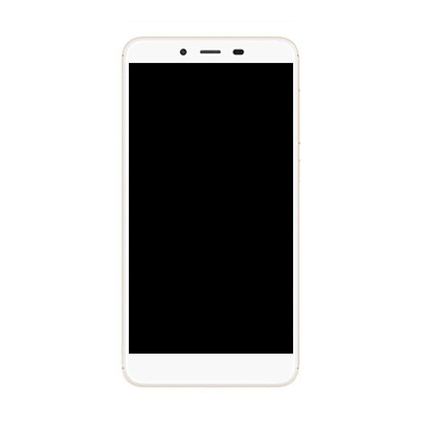 LCD with Touch Screen for Panasonic Eluga Pulse X - White (display glass  combo folder)