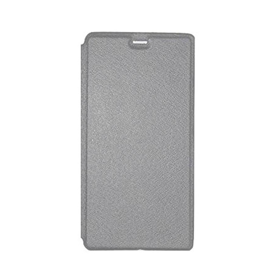on sale d9d4b e57d5 Flip Cover for Panasonic Eluga Ray Max - Grey