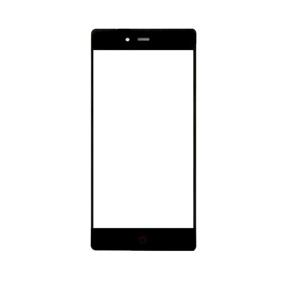 Replacement Front Glass For Zte Nubia Z9 Mini Black By