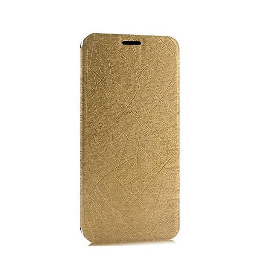 new styles cb736 6266a Flip Cover for Yu Yureka 2 - Gold