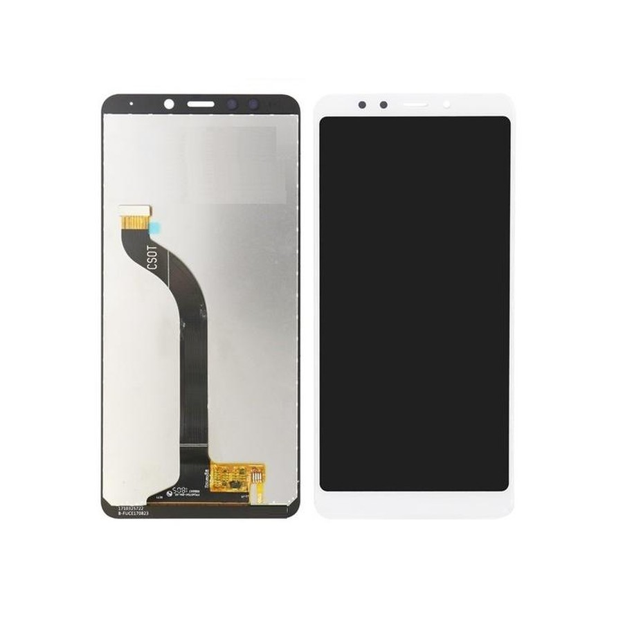 LCD with Touch Screen for Xiaomi Redmi Note 5 Plus - White (display glass  combo folder)