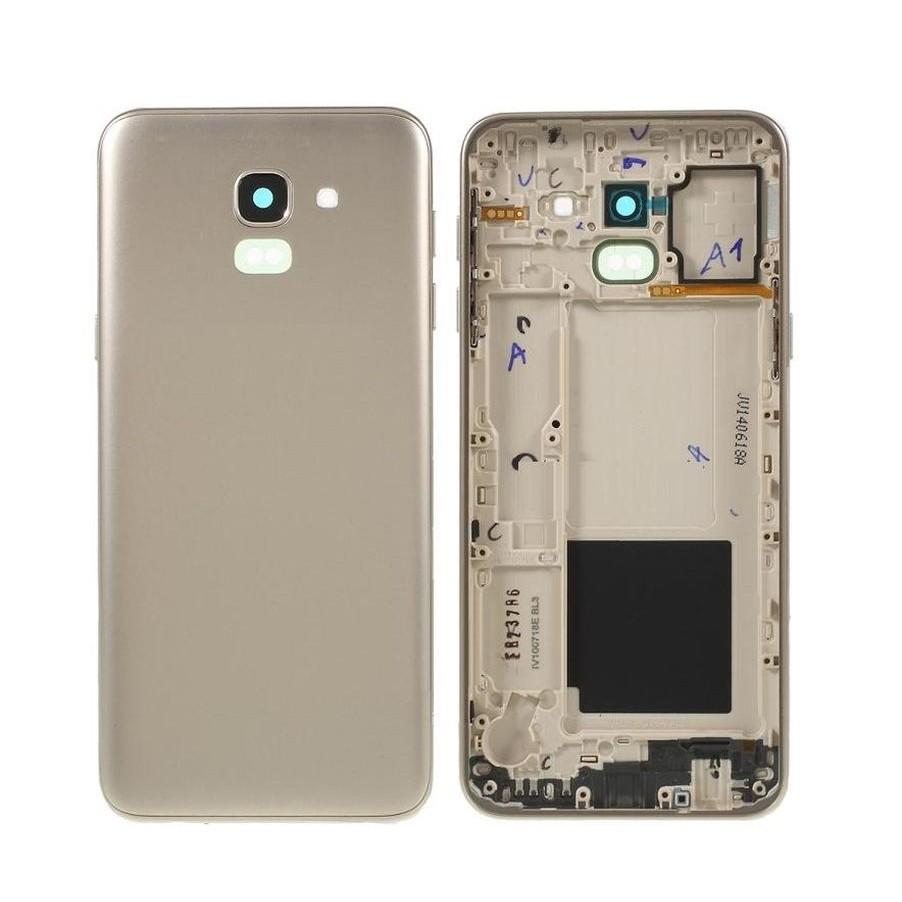 92c146bbeef Full Body Housing For Samsung Galaxy J6 Gold - Maxbhi Com ...