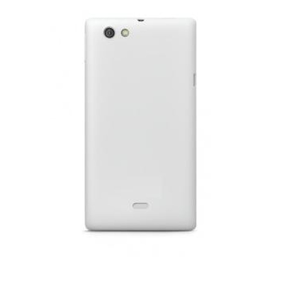 Full Body Housing for Sony Xperia miro ST23a White & Silver