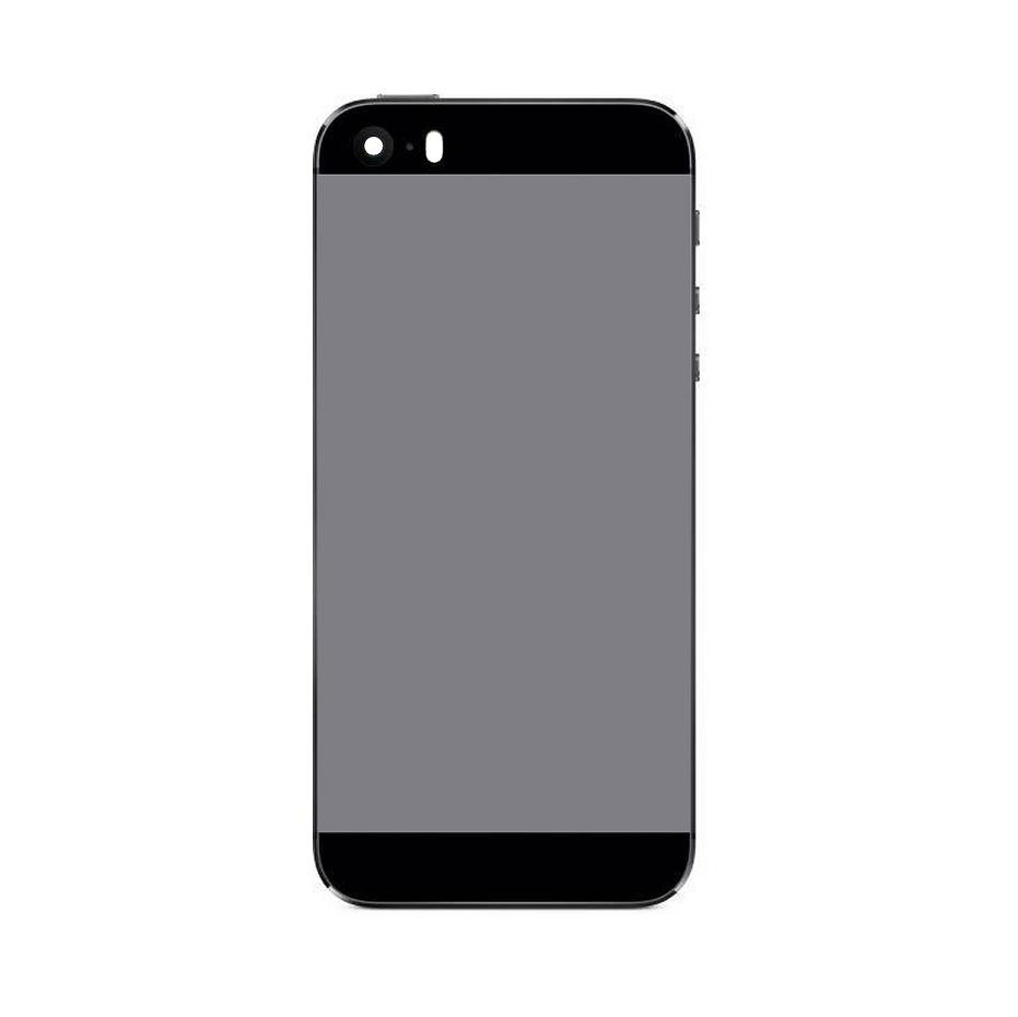 huge discount bd758 d2c72 Back Panel Cover for Apple iPhone 5s - Black