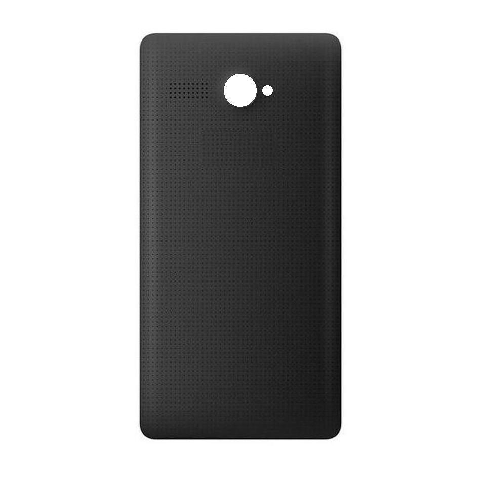 reputable site ba1b7 9bd0b Back Panel Cover for Micromax Bolt Q381 - Black