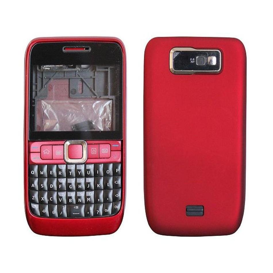 Full Body Housing For Nokia E63 Red Maxbhi Com