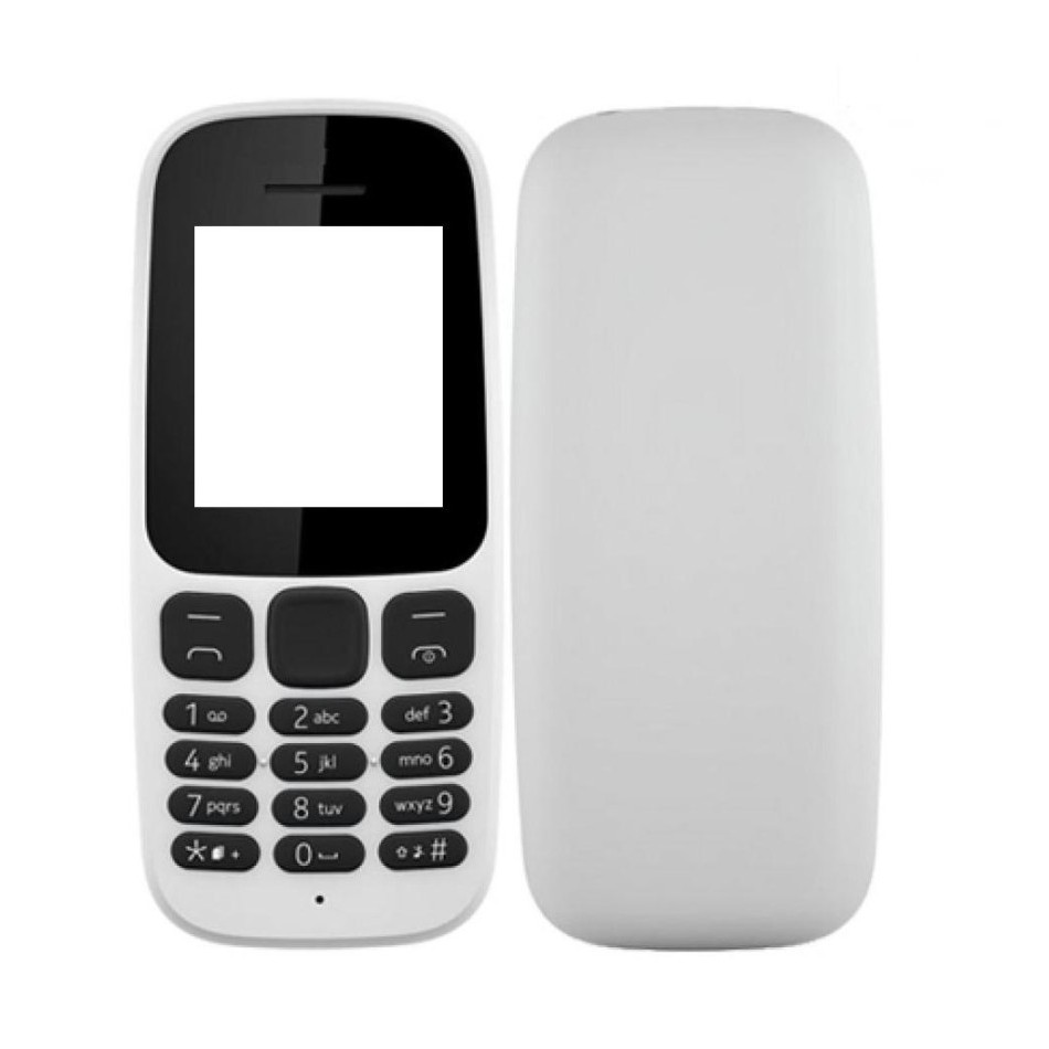 los angeles 6fada 33fdb Full Body Housing for Nokia 105 2017 - White