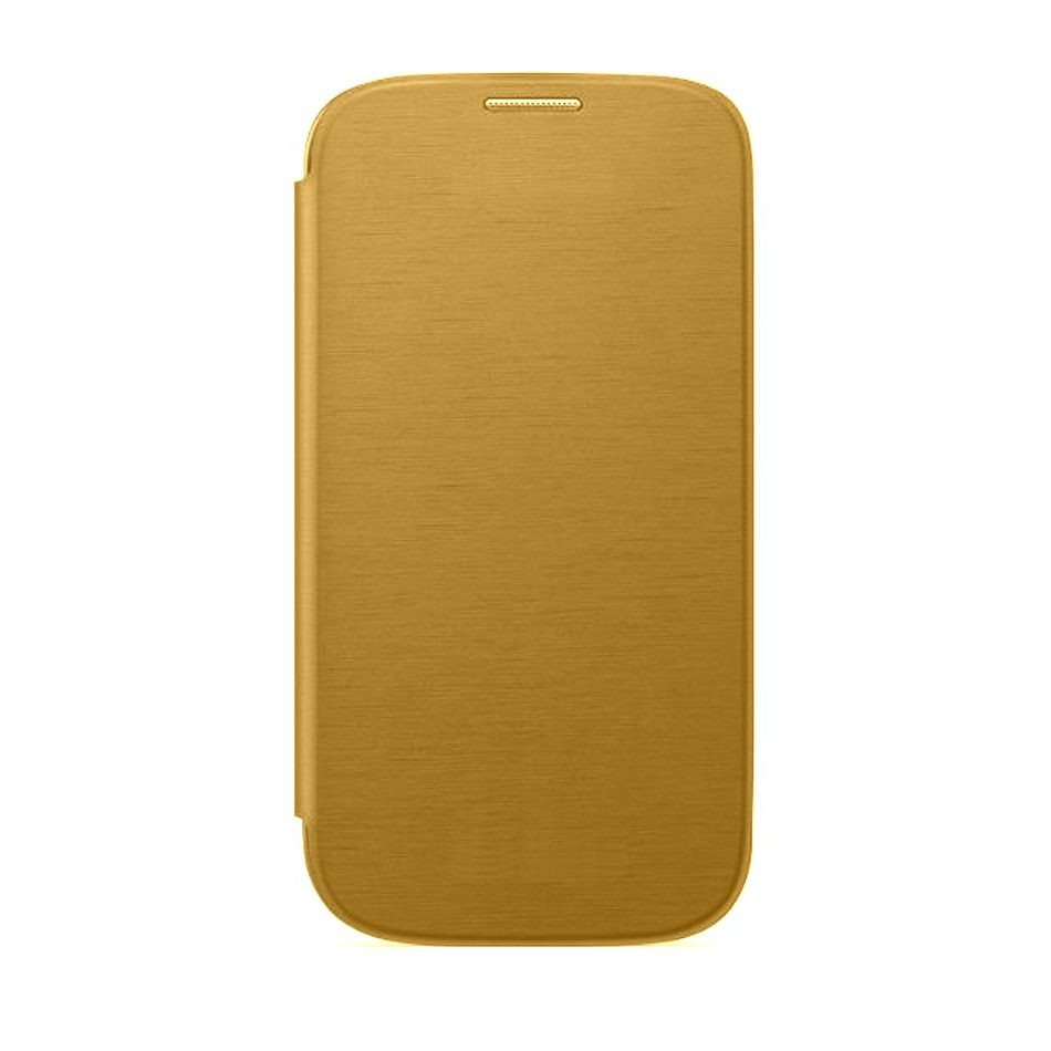 best loved 12f69 e876d Flip Cover for Samsung Galaxy Grand 2 SM-G7102 with dual SIM - Gold