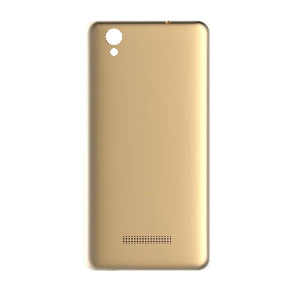 promo code 52494 6acac Back Panel Cover for Gionee Pioneer P5L LTE - Gold