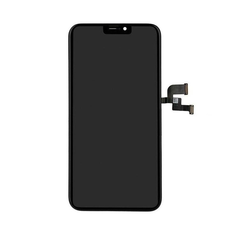 huge selection of fbb3f 92367 LCD with Touch Screen for Apple iPhone X Plus - Black (display glass combo  folder)