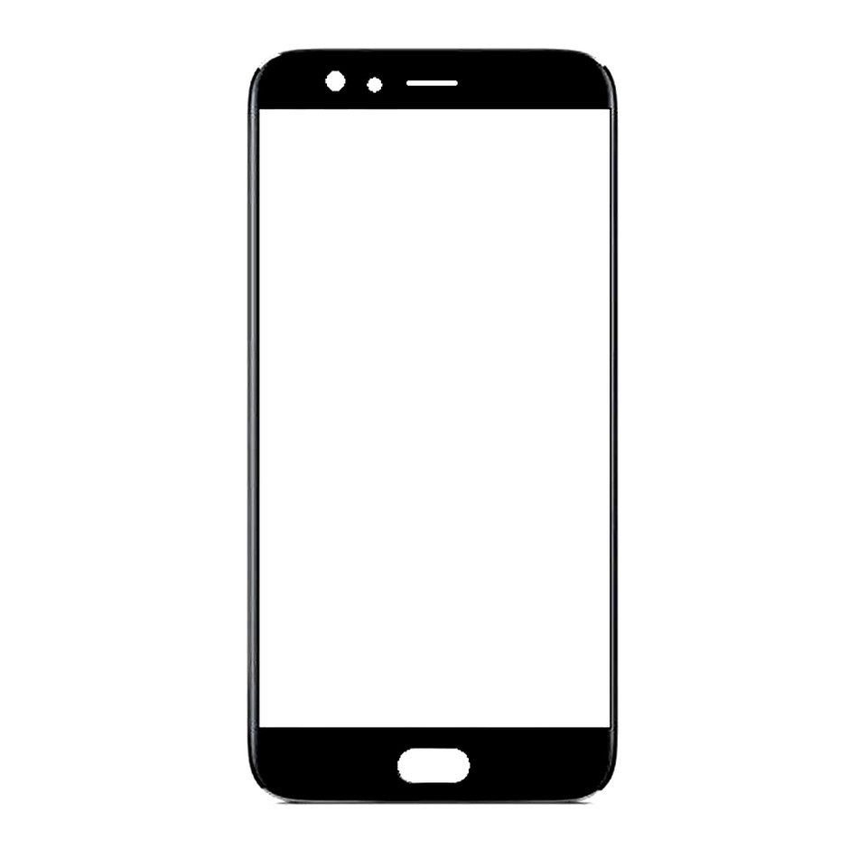 Front Glass for Oppo F3 Plus - Black