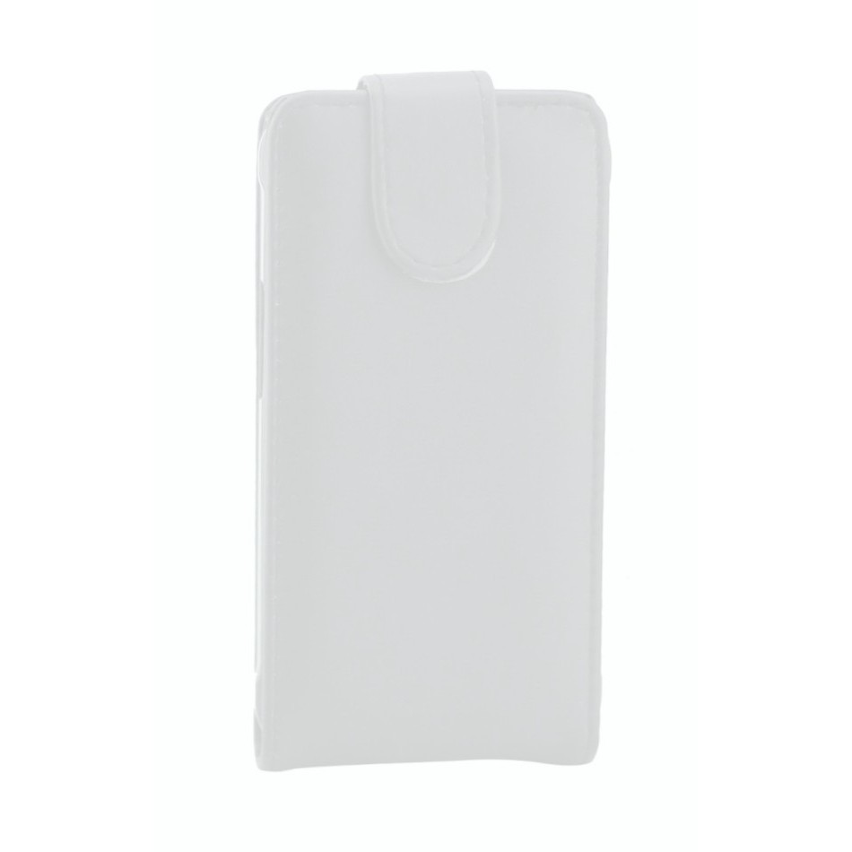 new style a73ad 1e818 Flip Cover for Reliance JioPhone - White