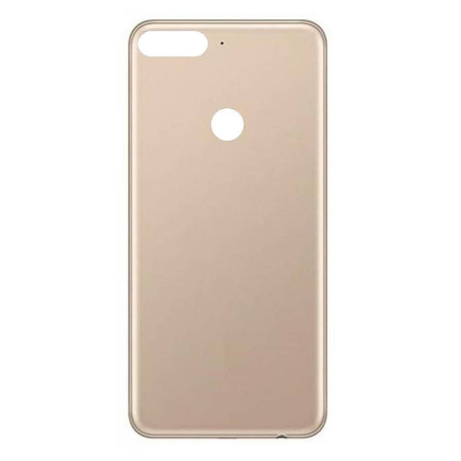 premium selection 81470 73bad Back Panel Cover for Huawei Y7 Prime (2018) - Gold