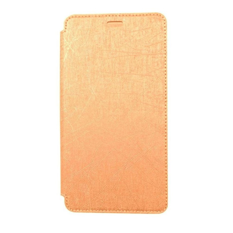 Flip Cover For Samsung Galaxy J3 Pro Gold By Tempered Glass Full Color