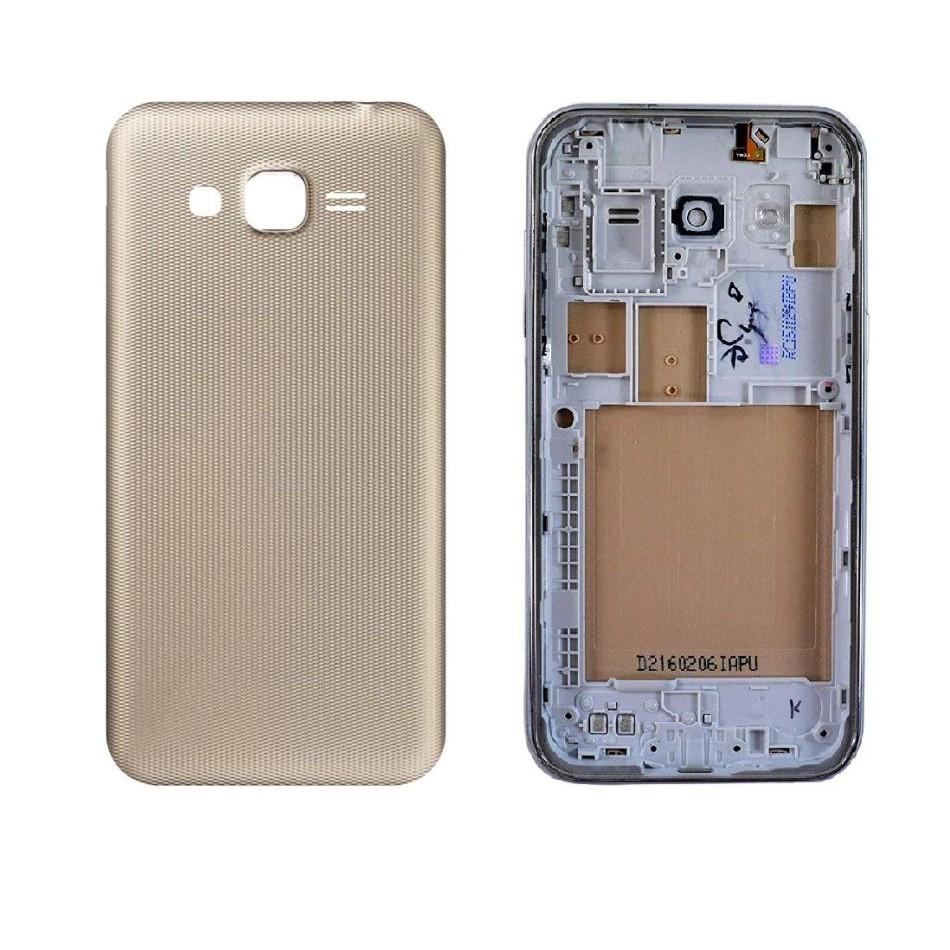 Full Body Housing For Samsung Galaxy J2 Prime Gold - Maxbhi Com ...
