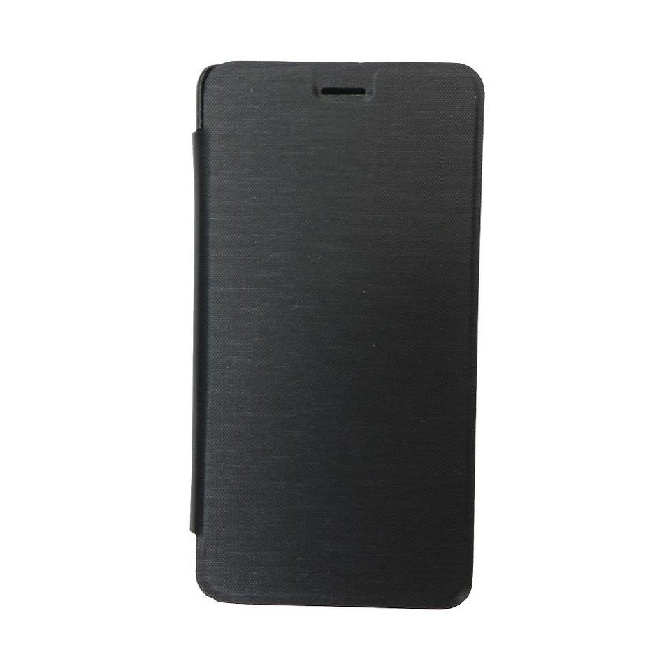 new product e742a 7ee71 Flip Cover for Lava Z50 - Black