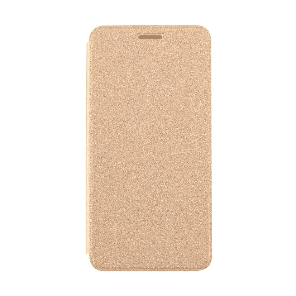 sale retailer 70603 55df1 Flip Cover for Panasonic Eluga Ray 550 - Gold