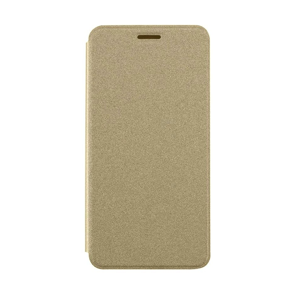 on sale c7d7c 837df Flip Cover for Samsung Galaxy A6 Plus (2018) - Gold