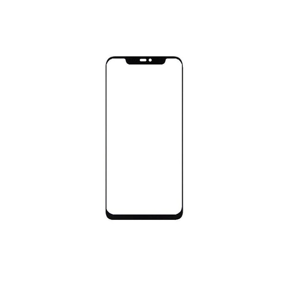 e8a710555 Replacement Front Glass For Blu Vivo Xi Plus Black By - Maxbhi Com