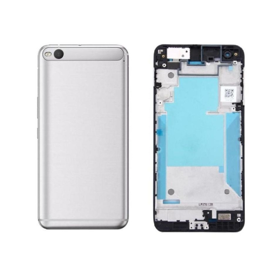 Full Body Housing for HTC One X9 - Silver - Maxbhi com