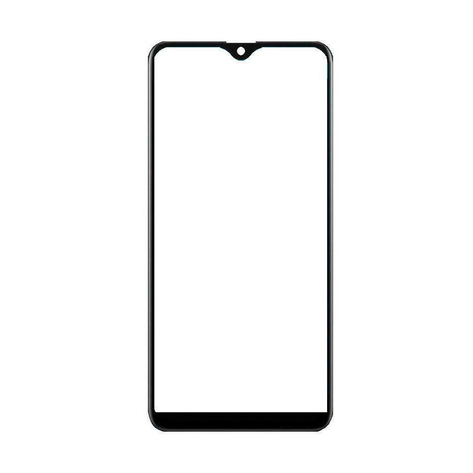 Front Glass for Oppo A7 - White