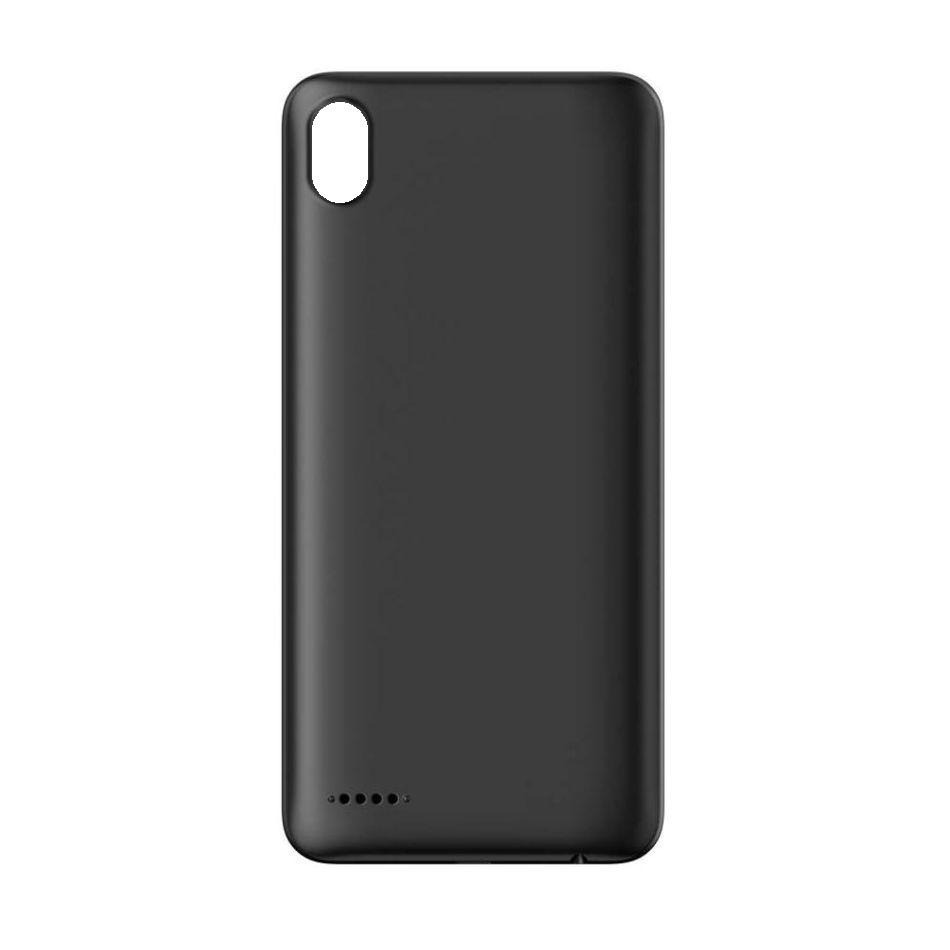 check out f3813 f7081 Back Panel Cover for Infinix Smart 2 - Black