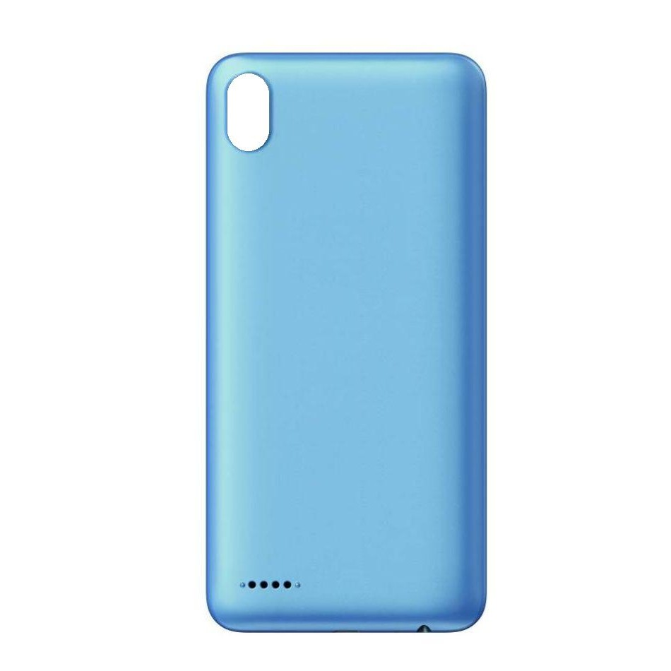 super cute 54205 58313 Back Panel Cover for Infinix Smart 2 - Blue
