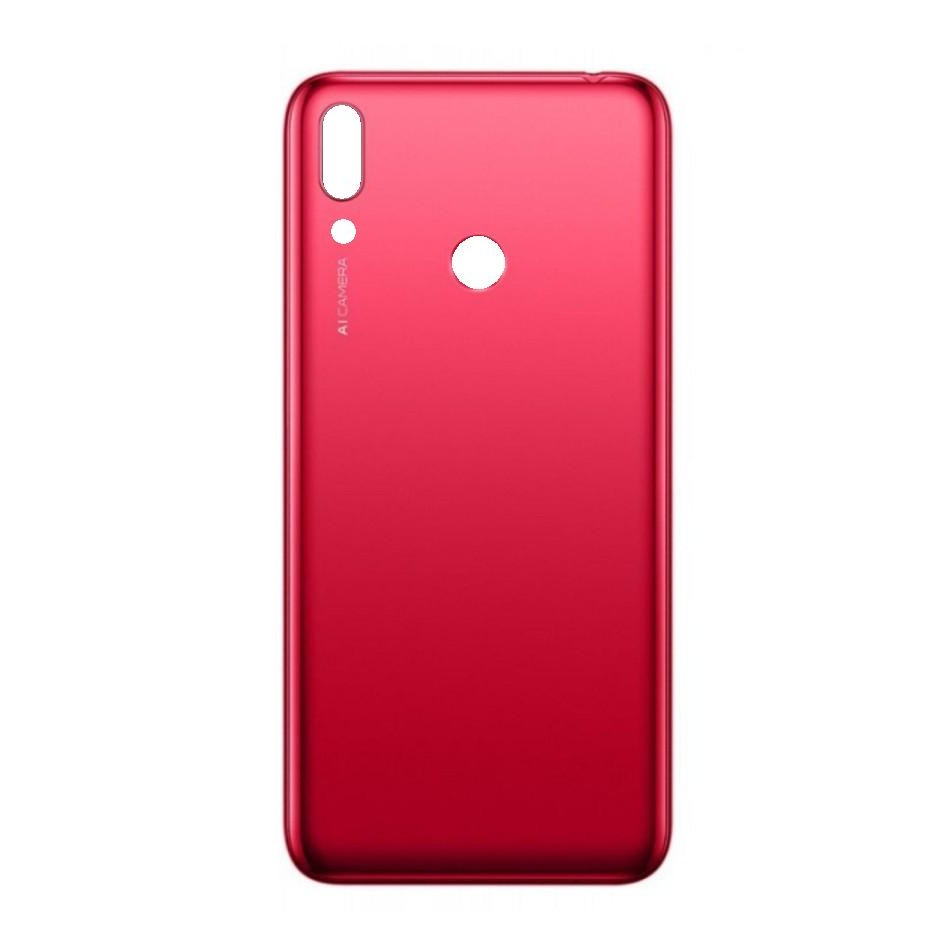 new style baad7 1af41 Back Panel Cover for Huawei Y7 Prime 2019 - Red