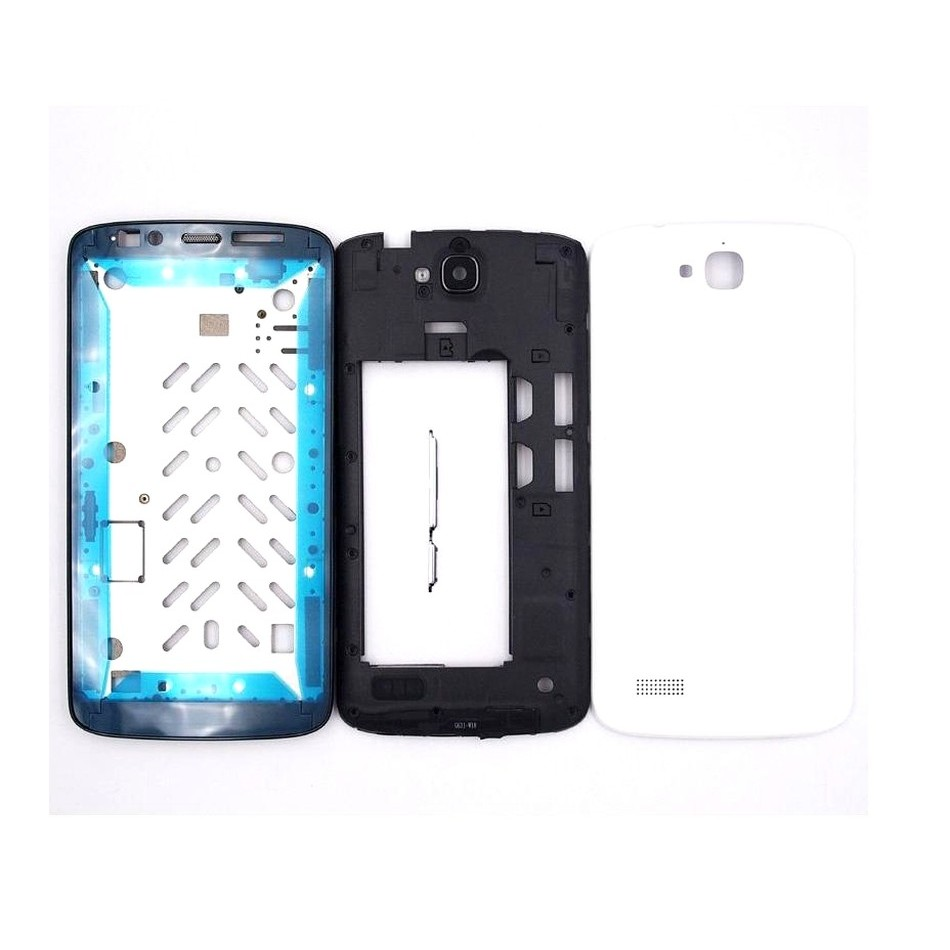 newest 165a2 fadef Full Body Housing for Huawei Honor Holly - White