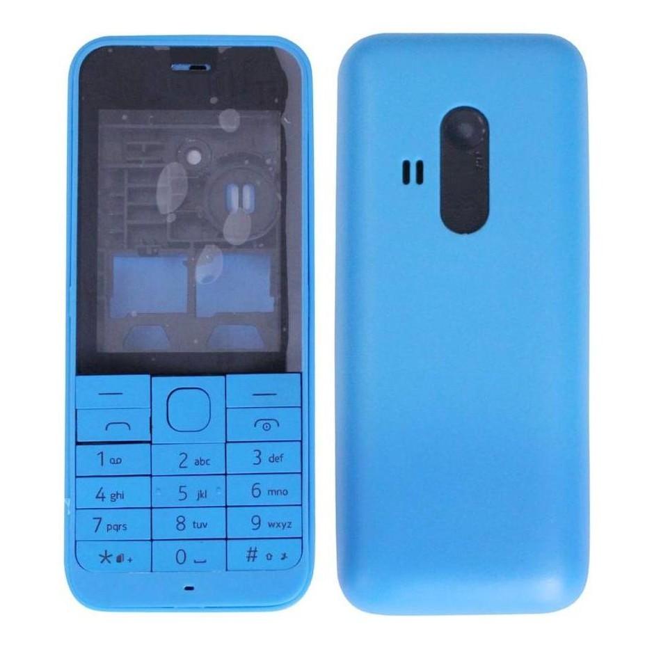 hot sale online dc1ac 887c0 Full Body Housing for Nokia 220 - Blue