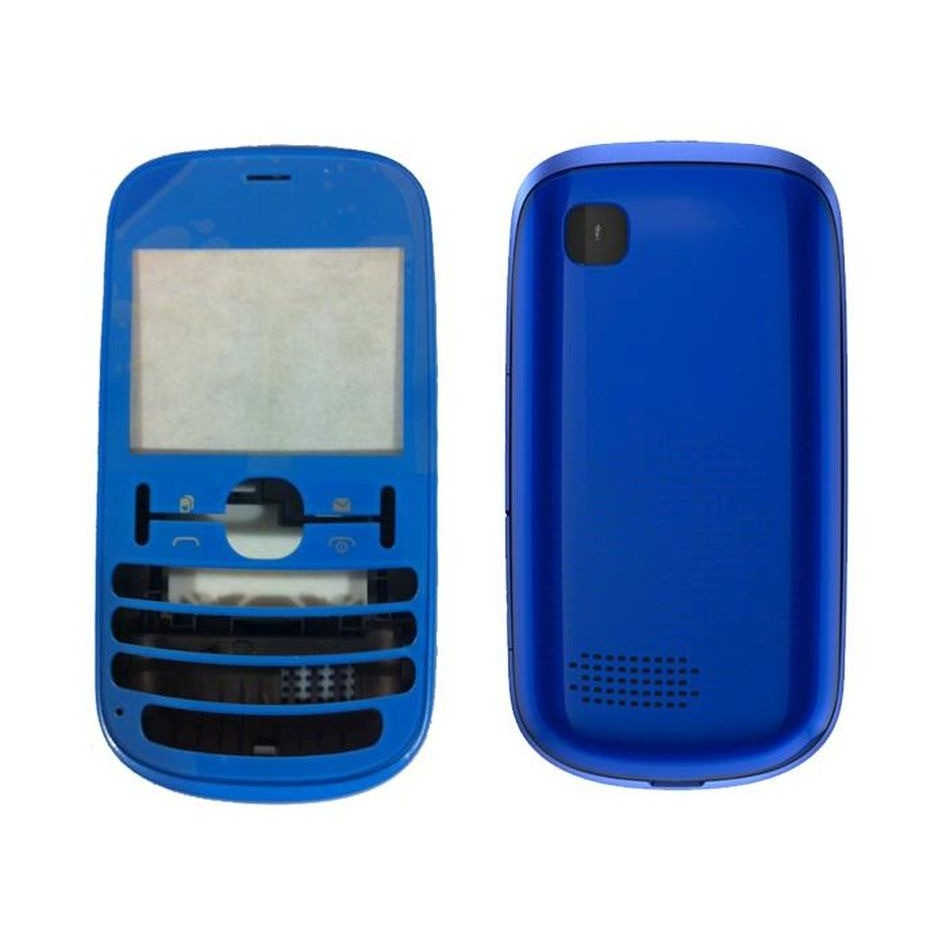reputable site fcd8d 314c4 Full Body Housing for Nokia Asha 200 - Blue