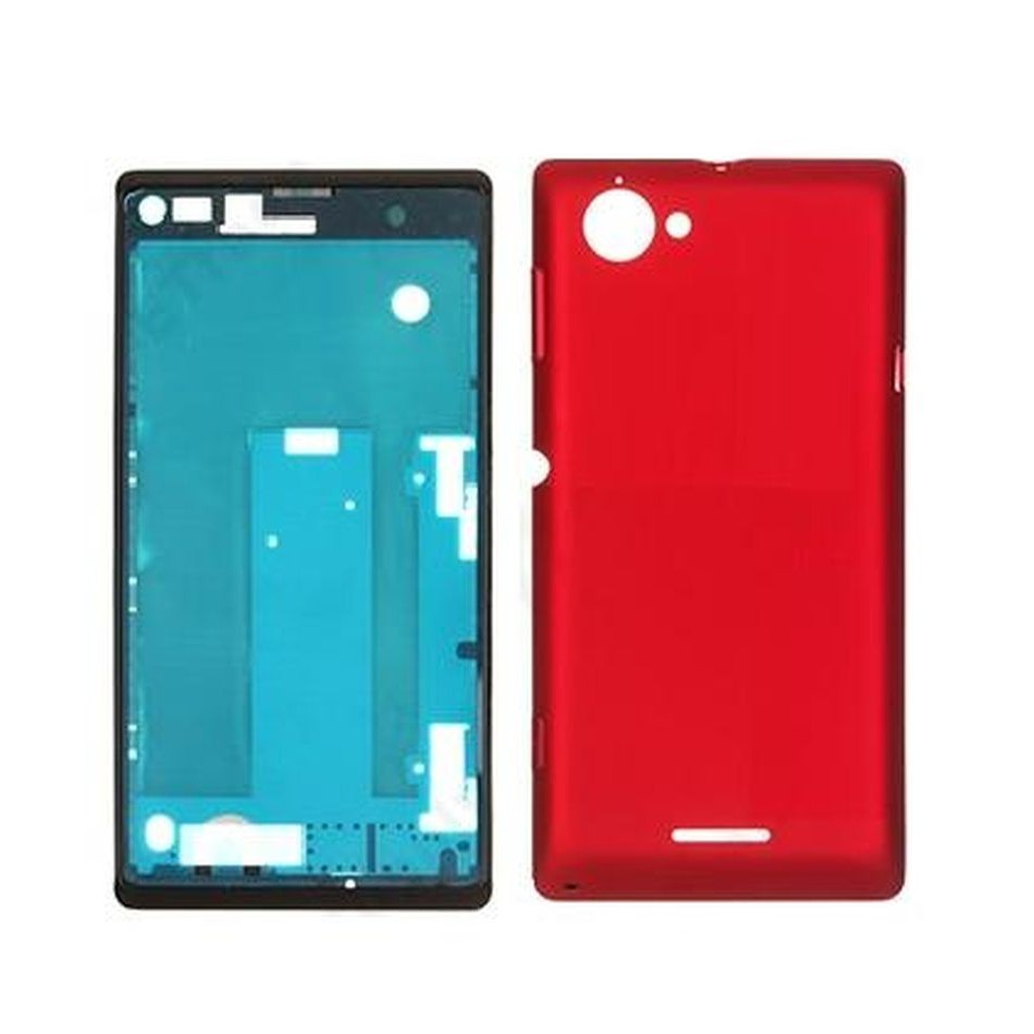 Full body housing for sony xperia l c2105 red maxbhi full body housing for sony xperia l c2105 red maxbhi reheart Choice Image