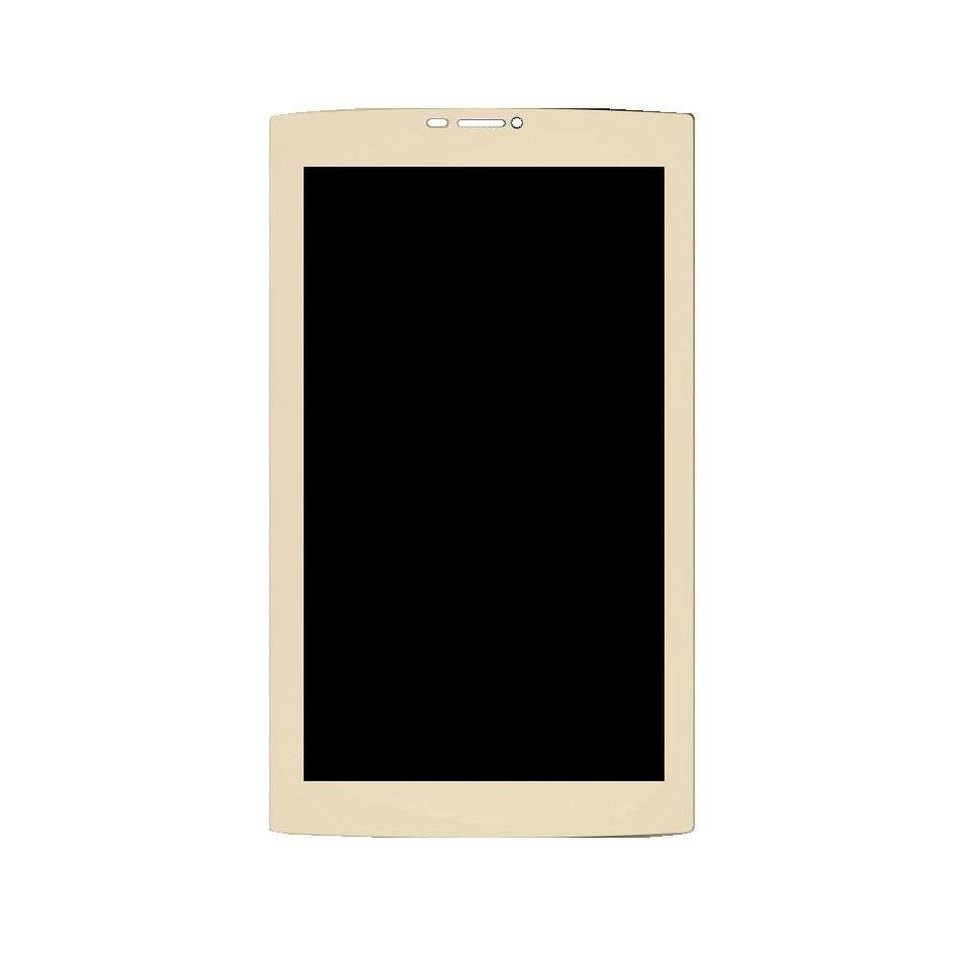 LCD with Touch Screen for Micromax Canvas Plex Tab - Champagne (display  glass combo folder)