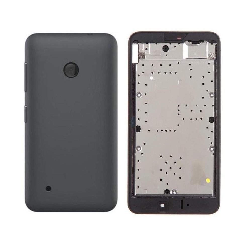 purchase cheap 7a1fa 2221b Full Body Housing for Nokia Lumia 530 Dual SIM - Black